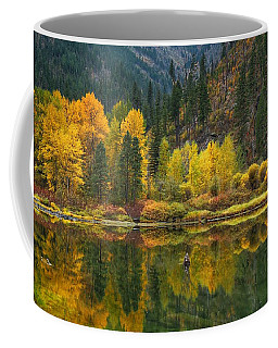 Tumwater Reflections Coffee Mug by Lynn Hopwood