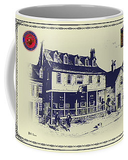 Tun Tavern - Birthplace Of The Marine Corps Coffee Mug by Bill Cannon