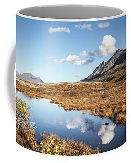 Tundra Pond Reflections In Fall Coffee Mug