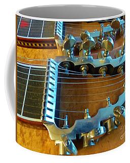 Tuning Pegs On Sho-bud Pedal Steel Guitar Coffee Mug