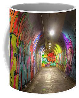 Tunnel Of Graffiti Coffee Mug