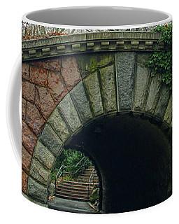 Tunnel On Pathway Coffee Mug