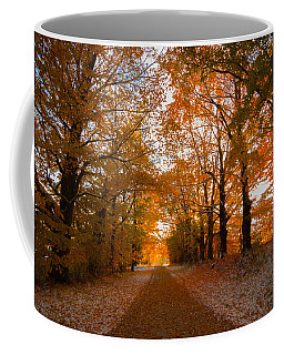 Tunnel Through Morning Backlight Coffee Mug