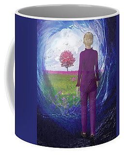 Tunnel To Eternal Life Coffee Mug
