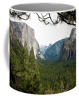 Tunnel View Framed Coffee Mug