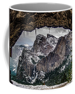 Coffee Mug featuring the photograph Tunnel View From The Tunnel by Bill Gallagher