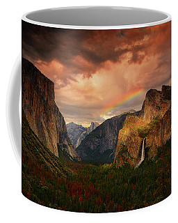 Tunnel View Rainbow Coffee Mug
