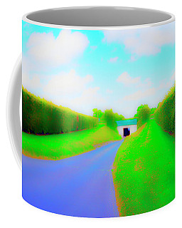 Tunnell On The  Thames Coffee Mug by Jan W Faul