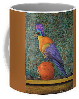Turaco On A Persimmon Coffee Mug
