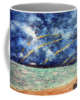 Turbulence At The Nj Shore Coffee Mug