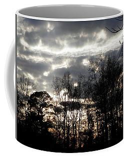 Turbulence Coming Georgia Sky Coffee Mug by Belinda Lee