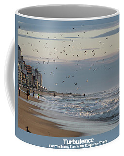 Coffee Mug featuring the photograph Turbulence by Robert Banach
