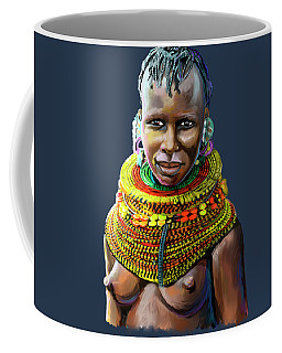 Turkana Girl Coffee Mug