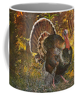 Turkey In The Woods Coffee Mug