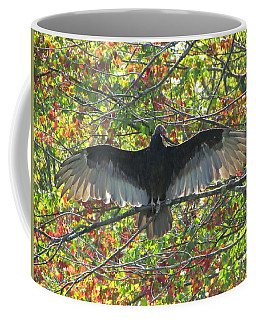 Turkey Vulture In Our Tree Coffee Mug by Betty Pieper