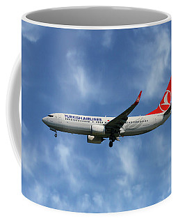 Turkish Airlines Boeing 737-8f2 Coffee Mug