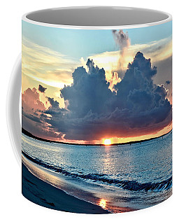 Turks And Caicos Grace Bay Beach Sunset Coffee Mug