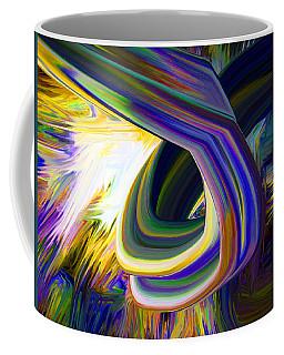 Turn Here Coffee Mug