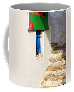 Coffee Mug featuring the photograph Turn Left by Prakash Ghai