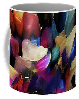 Coffee Mug featuring the digital art Turn Off The World And Tarry by Margie Chapman