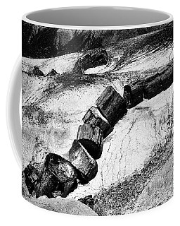 Coffee Mug featuring the photograph Turned To Stone by Paul W Faust - Impressions of Light