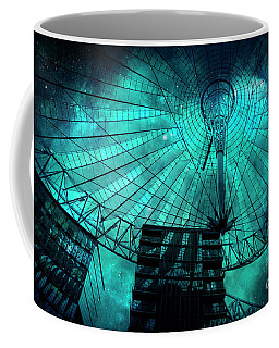 Turquoise Cosmic Berlin Coffee Mug
