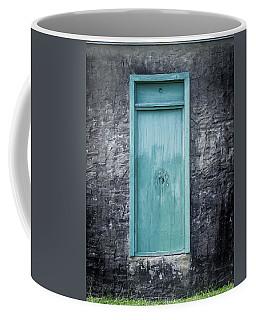 Turquoise Door Coffee Mug