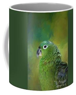 Turquoise-fronted Amazon Coffee Mug