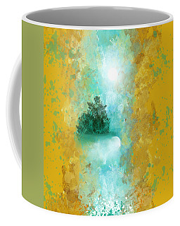 Turquoise River Coffee Mug by Jessica Wright