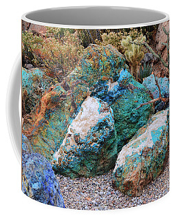 Turquoise Rocks Coffee Mug