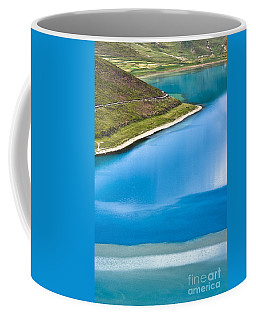 Turquoise Water Coffee Mug by Hitendra SINKAR