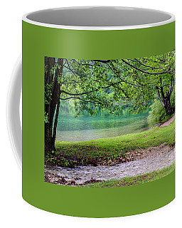 Turquoise Zen - Plitvice Lakes National Park, Croatia Coffee Mug