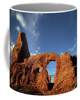 Turret Arch In The Moonlight Coffee Mug