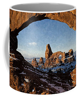 Turret Arch Coffee Mug by Kai Saarto