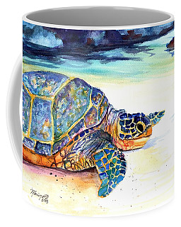 Turtle At Poipu Beach 2 Coffee Mug