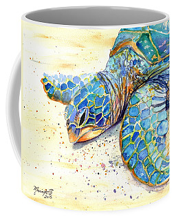Turtle At Poipu Beach 4 Coffee Mug