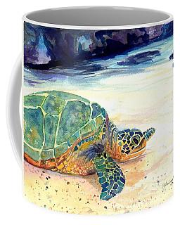 Turtle At Poipu Beach 5 Coffee Mug