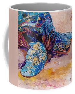Turtle At Poipu Beach 6 Coffee Mug by Marionette Taboniar