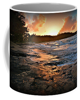 Turtle Bay Sunset 1 Coffee Mug