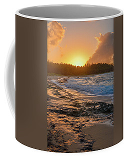 Turtle Bay Sunset 3 Coffee Mug