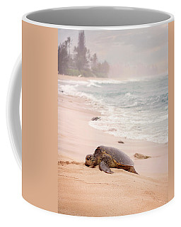 Coffee Mug featuring the photograph Turtle Beach by Heather Applegate