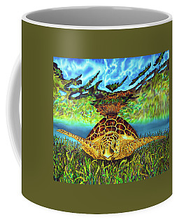 Turtle Grass Coffee Mug