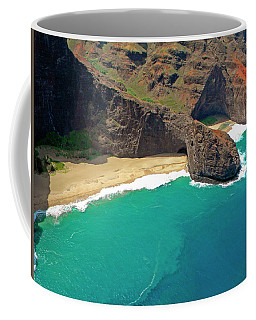 Turtle Head Sea Cave Napali Coast Coffee Mug