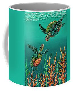 Turtle Love Coffee Mug by Darice Machel McGuire