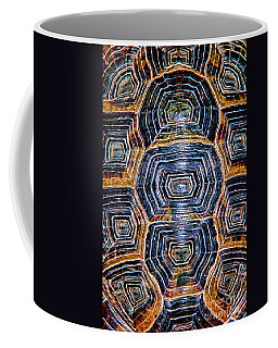 Turtle Madness Coffee Mug by Mariola Bitner