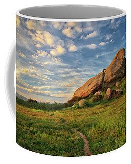 Turtle Rock At Sunset Coffee Mug by Endre Balogh