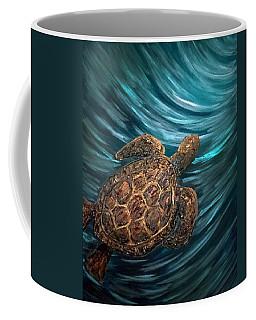 Turtle Wave Deep Blue Coffee Mug
