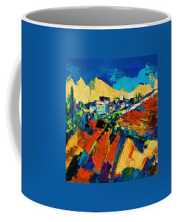 Coffee Mug featuring the painting Tuscan Light by Elise Palmigiani