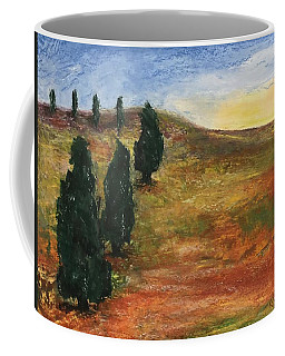 Coffee Mug featuring the pastel Tuscan Lights by Norma Duch