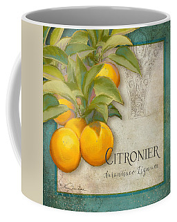 Tuscan Orange Tree - Citronier Aurantiaco Lignum Vintage Coffee Mug